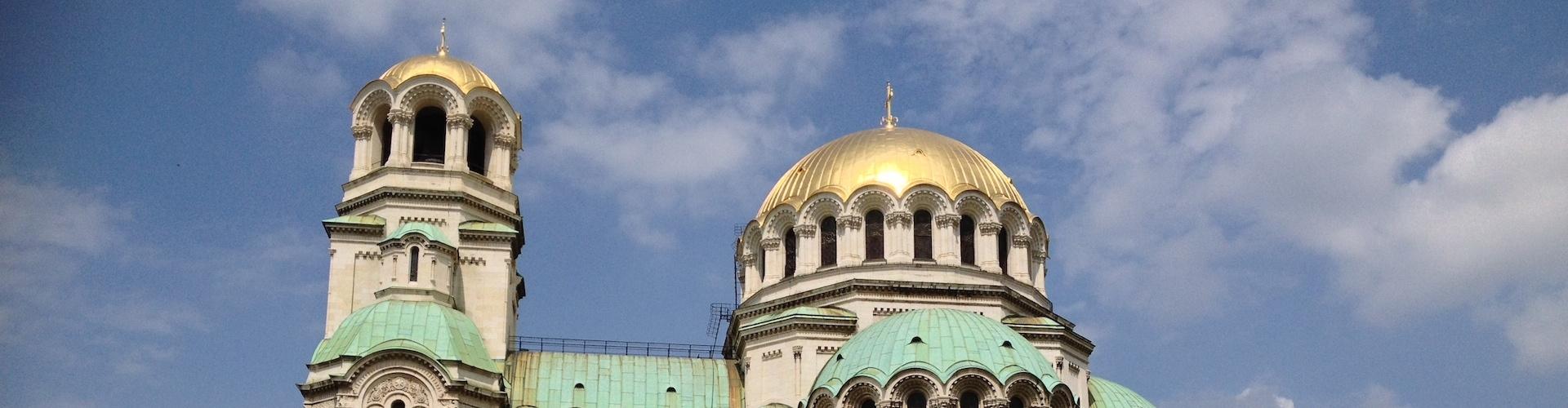 Saint Alexander Nevski Cathedral, Sofia Bulgaria